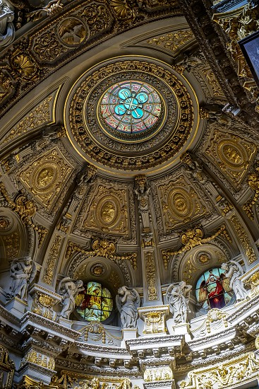 Detail of the Cathedral in Berlin photo