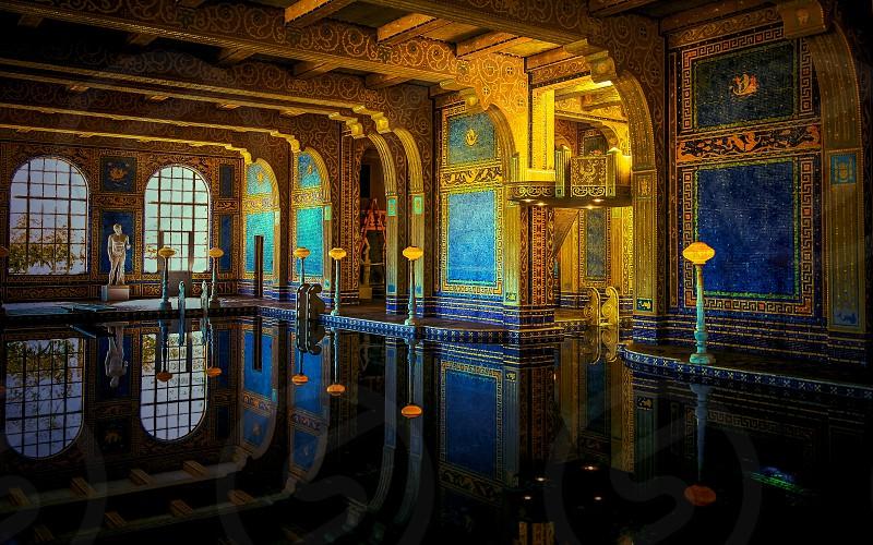 Reflection travel indoor photo