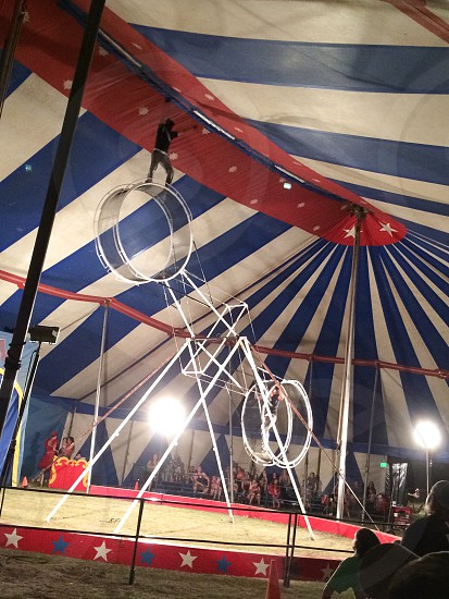 Circus go round and round photo