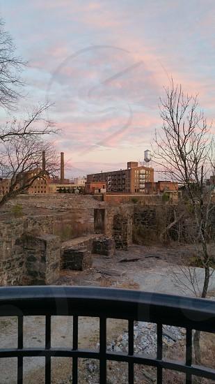 Riverwalk Overlooking the Old Mill photo