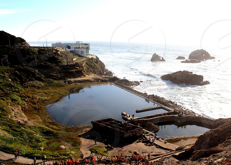 Sutro baths San Francisco  photo