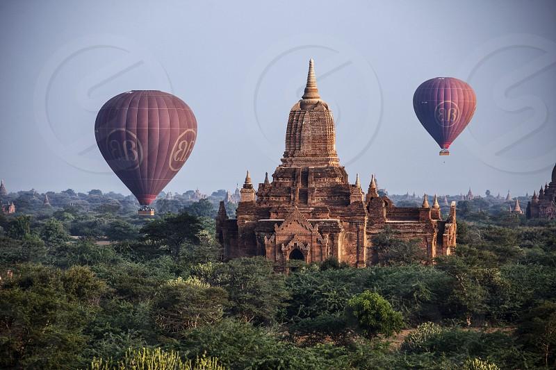 Myanmarasiaburmabaganbalon photo