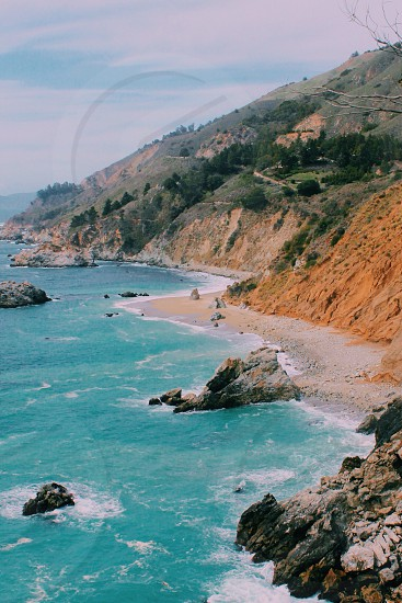 Big sur california west coast photo