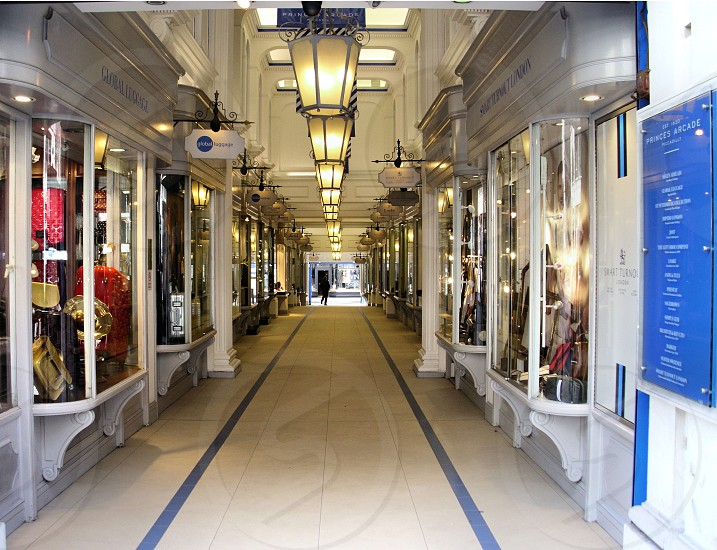 Shopping arcade. photo