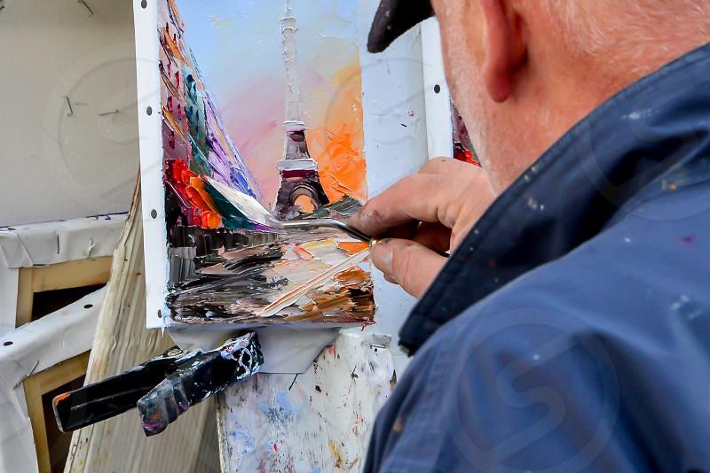 Painter photo