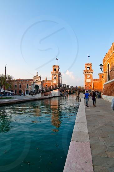 Venice Italy Arsenale ancient Serenissima militar structure photo