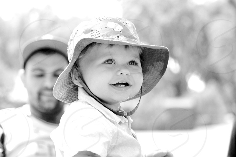 Happy • park • toddler  photo