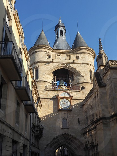 Morning Sunshine on the Gross Cloche in Bordeaux photo