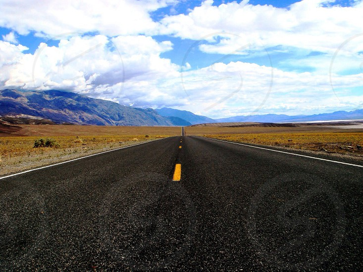 Road to the Death Valley photo