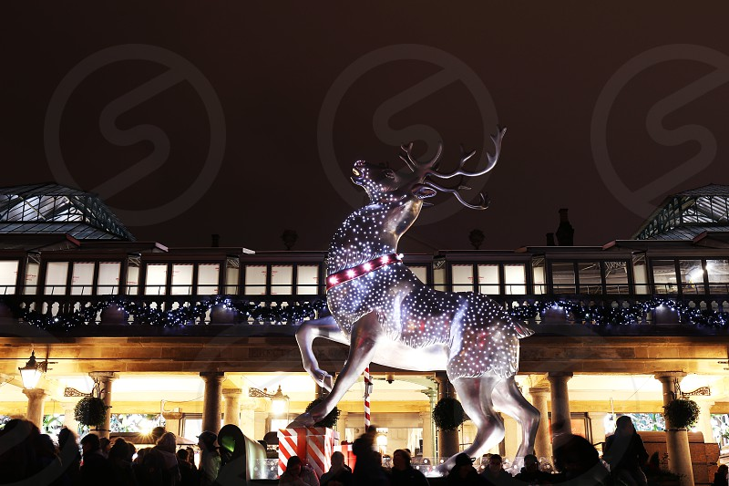Covent Garden Christmas decoration London. photo