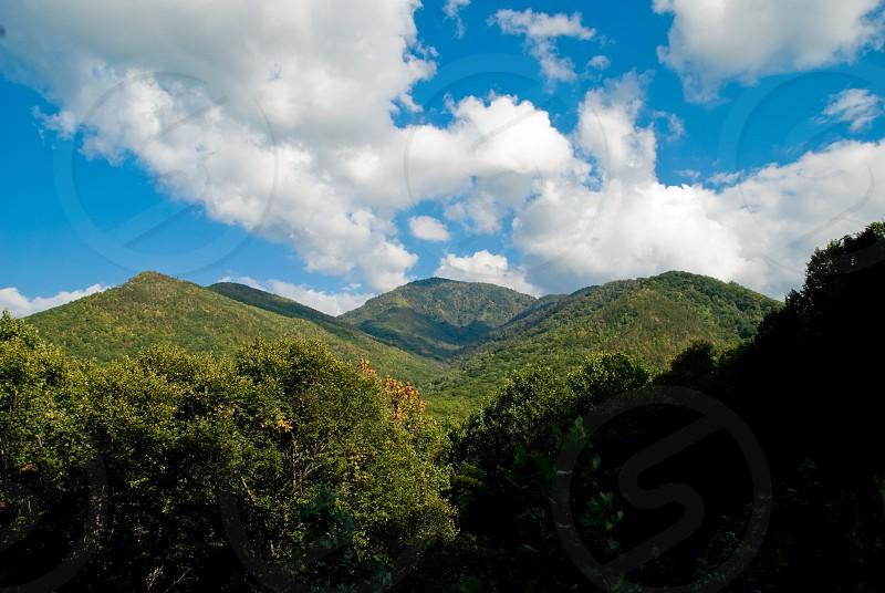 Smokey mountain nature mountains photo