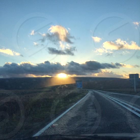 Drive across the Peak District - roadtrip photo