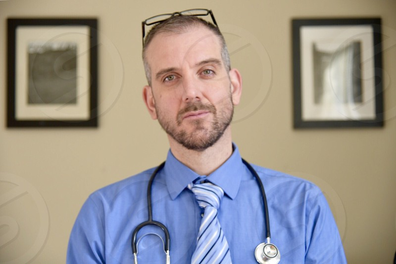 Doctor on web call photo