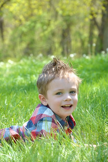 Child Cover  Spring Session Moon Lake Fort Riley KS  photo