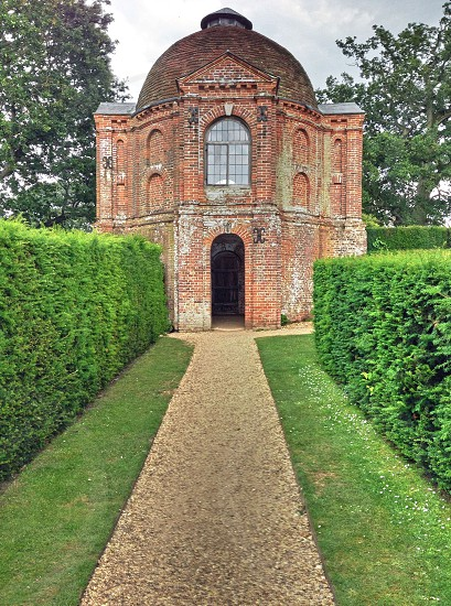 Architecture in the gardens photo