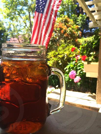 clear glass mug photo