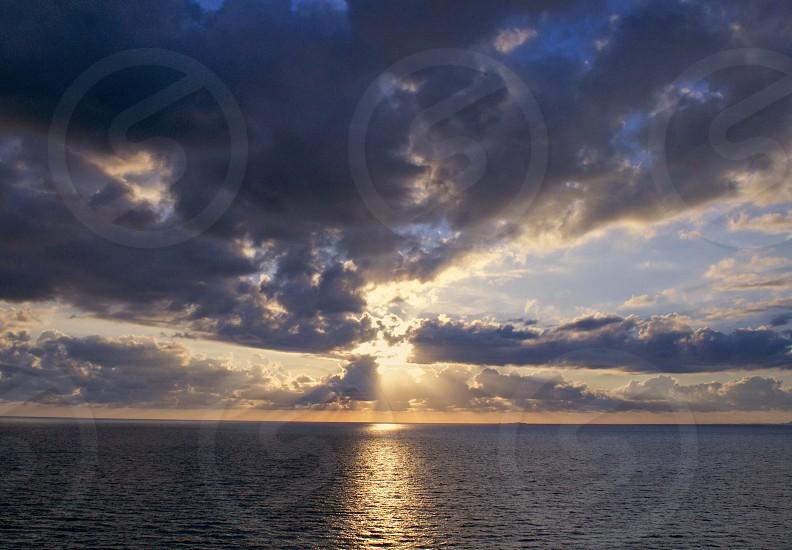 Vallarta beach sunset  photo