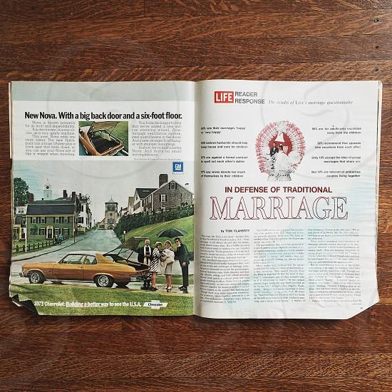 Marriage Life magazine photo