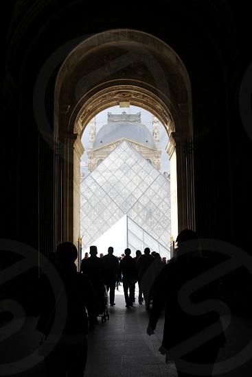 The Louvre. Paris France.  photo