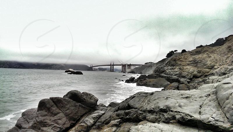 Foggy Golden Gate photo