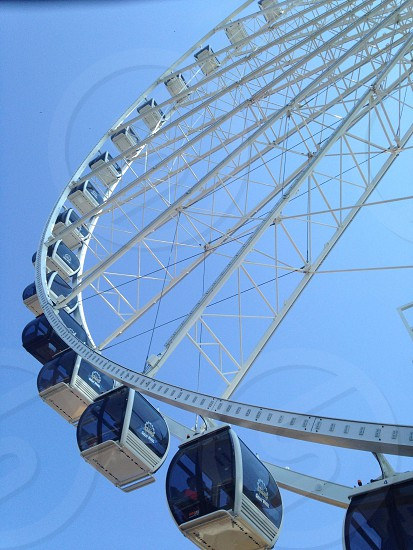 Seattle Ferris wheel photo
