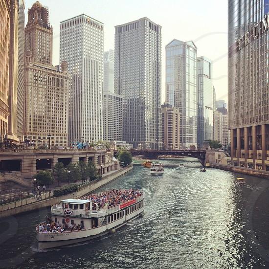 Chicago Riverwalk Chicago Illinois photo