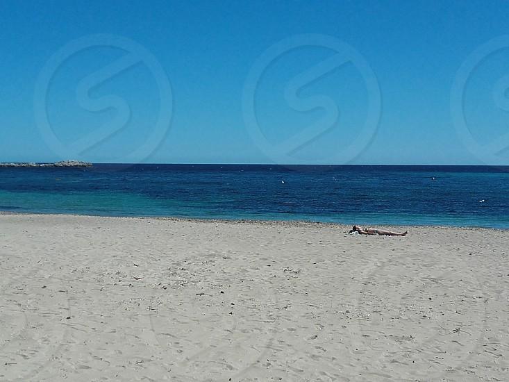 Ibiza beach Spain photo