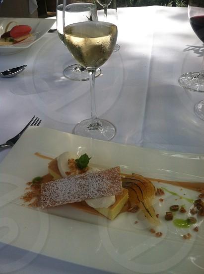 Dessert and Champagne photo