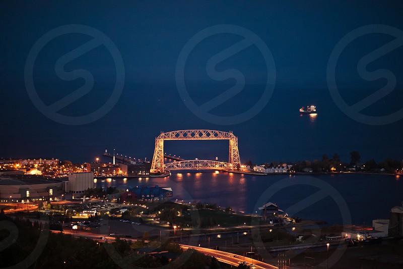 Bridge in Duluth MN photo