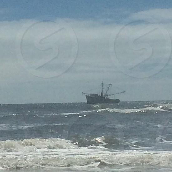 Shrimping boat photo