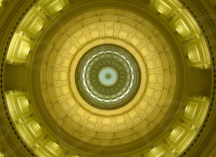Ceiling of Austin's Capitol Building photo
