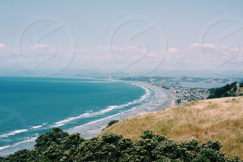 kohi point whakatane New Zealand photo