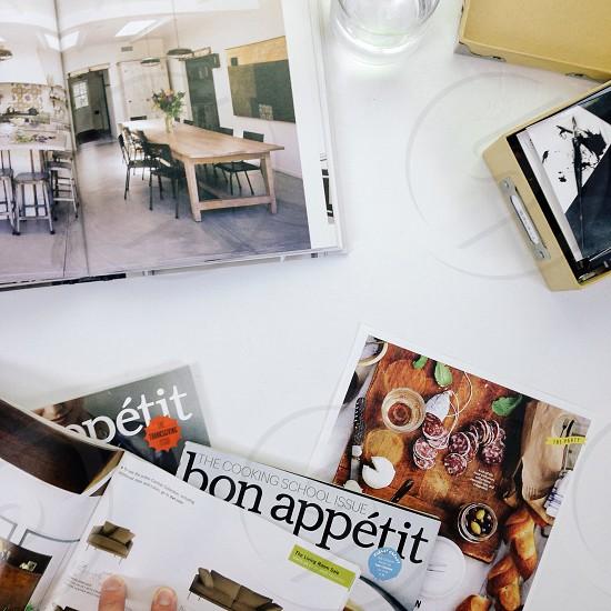 bon appetit magazine cover photo
