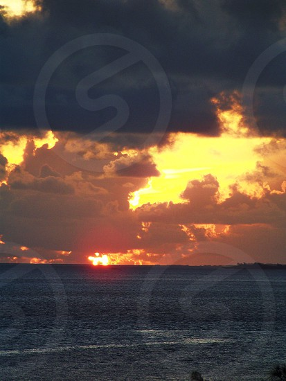 Fire in the sky Bahamas photo