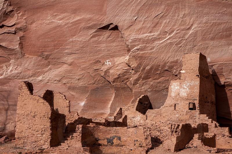 Old Indian dwelling photo