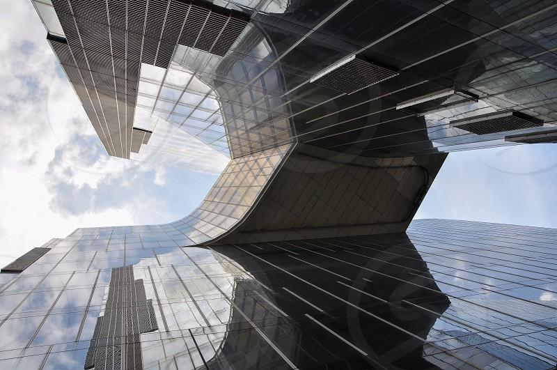 view of skyscraper photo
