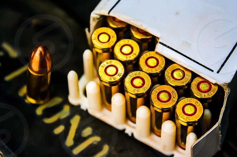 Ammunition. photo