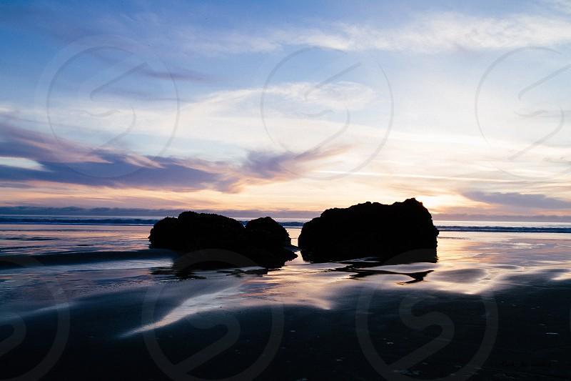 Stinson Beach Sunset photo