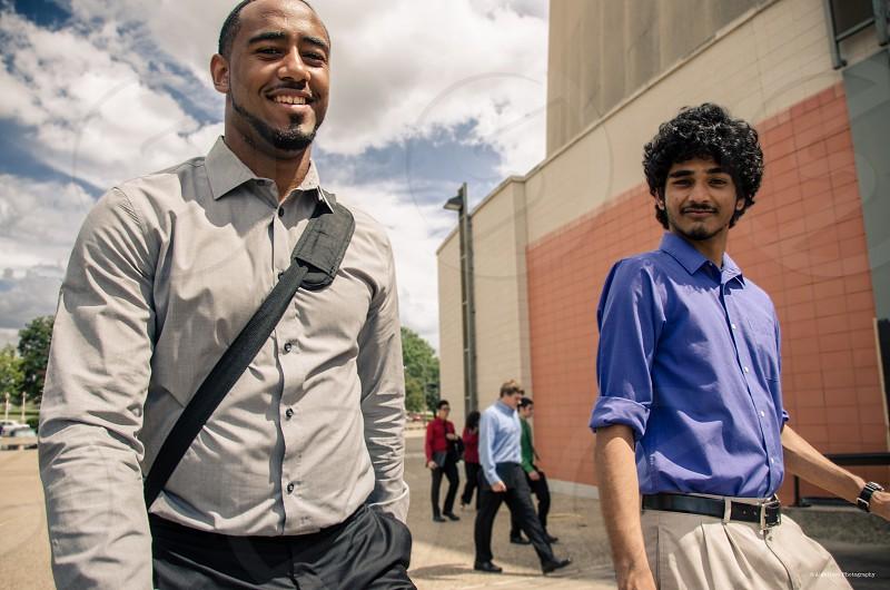 Diversity school college job fair success  photo