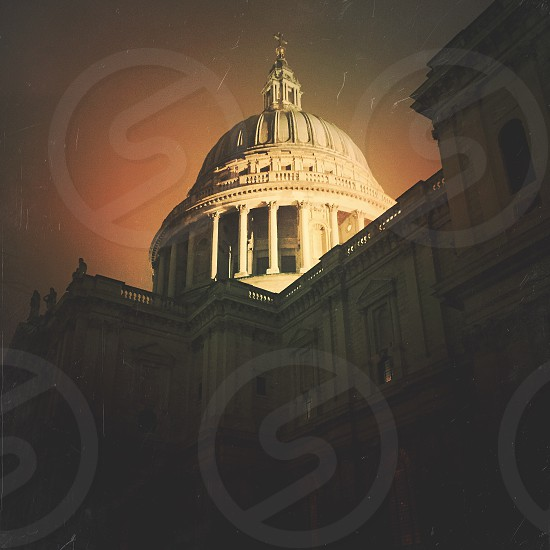 St Paul's Cathedral. Captured and edited with VSCO and Mextures apps for iPhone 6.  photo