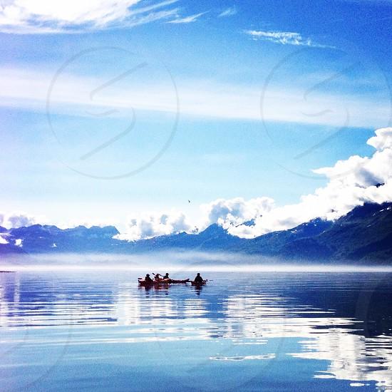 Kayaking in Valdez Alaska photo