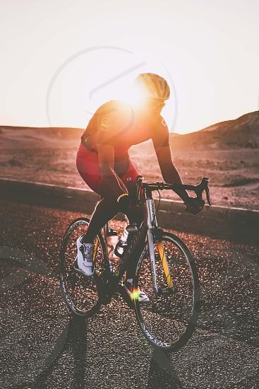 Train hardplay harder... Sunset time training. photo