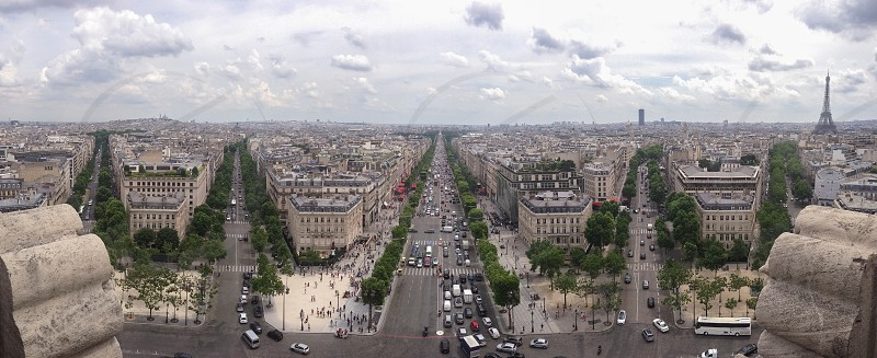 Paris panorama  photo