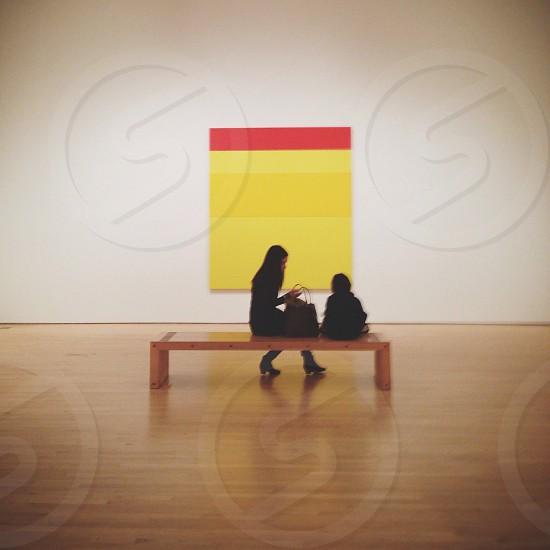 Art watchers photo