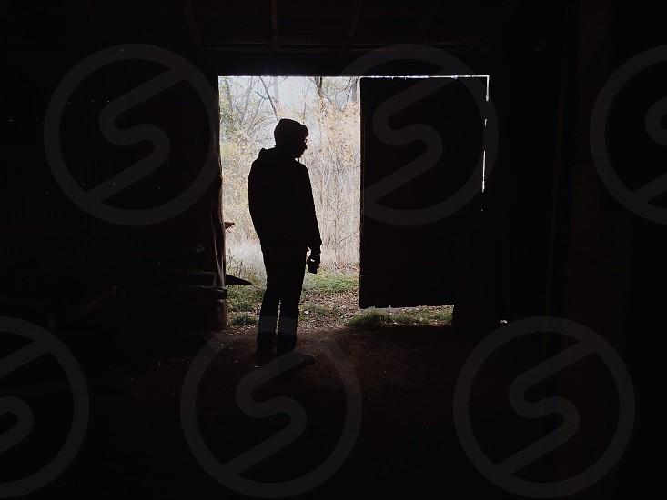person silhouette photograph photo