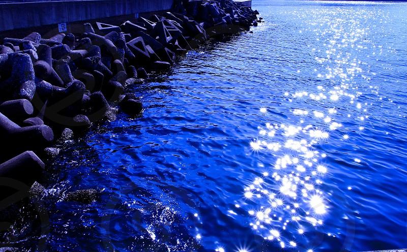 Reflection (26) : 'Stars on Sea'  photo