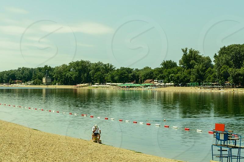 Summer activity lifestyle photo