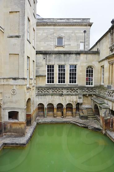 Roman Baths - Bath England photo