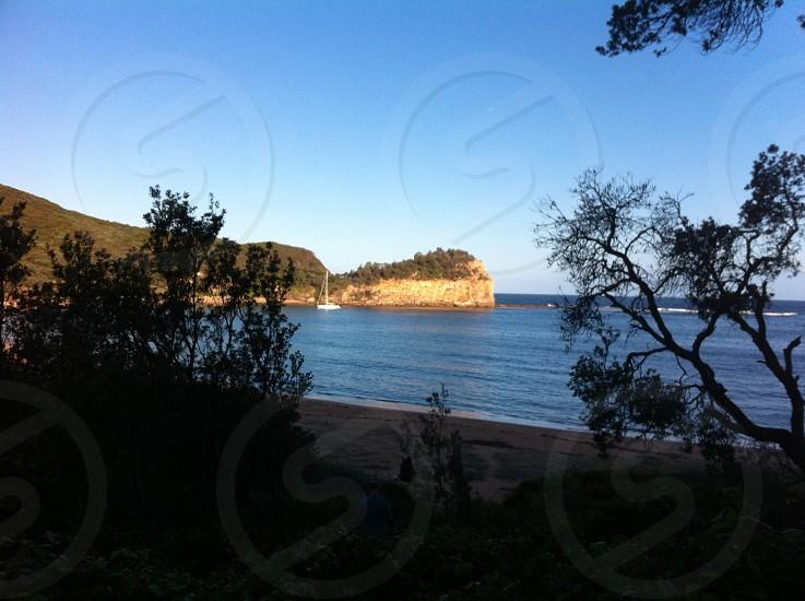 Beautiful Boudi National Park Maitland Bay NSW  photo