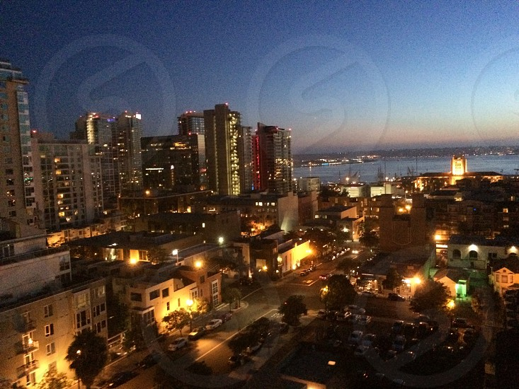 San Diego Bay Sunset photo